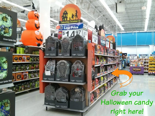 hershey variety bags of candy for halloween from walmart trickorsweet ad - Walmart Halloween Decorations