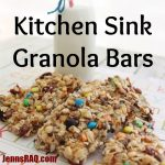 Kitchen Sink Granola Bars