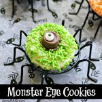 Monster Eye Cookies {Halloween Dessert}