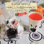 Super Simple Halloween Hack {Ghosts}