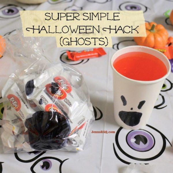 Super Simple Halloween Hack {Ghosts}