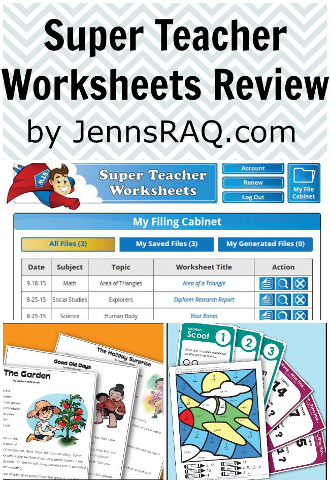 Super Teacher Worksheets Review Real And Quirky