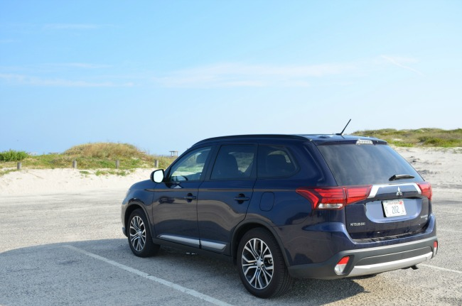 2016 Mitsubishi Outlander SEL at Port Aransas Texas