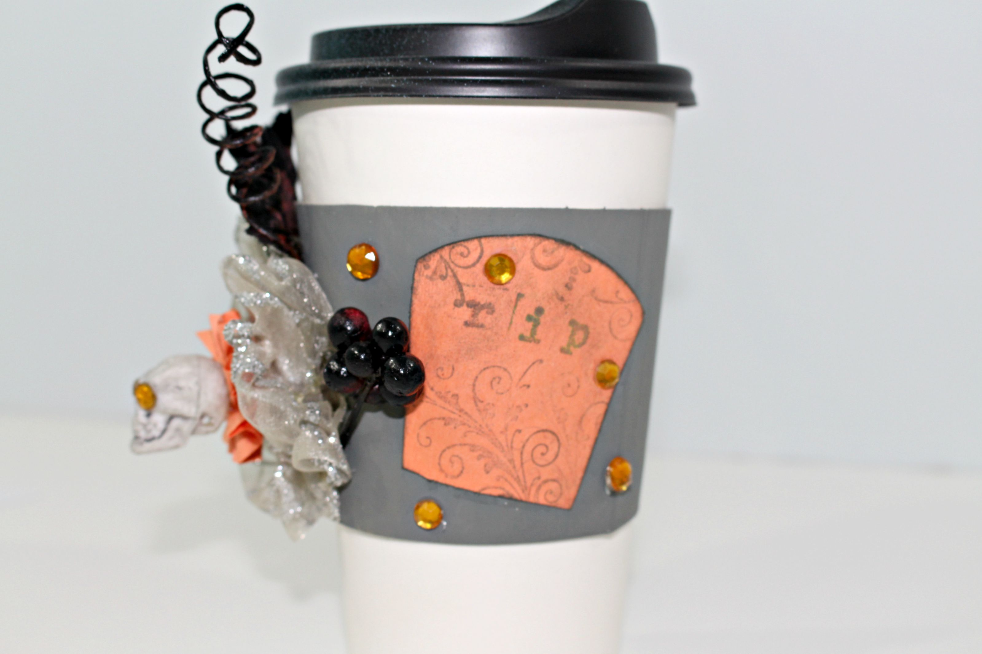 Diy Halloween Coffee Cup Gift Real And Quirky