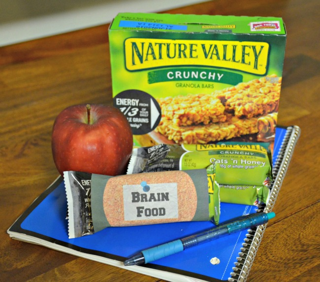 Brain Food Nature Valley Granola Bar Printable as seen on jennsRAQ.com #AStockUpSale #TomThumb AD