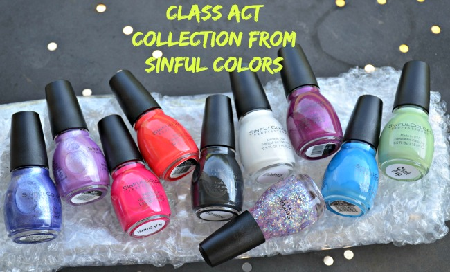 Class Act Collection from Sinful Colors as seen on jennsRAQ.com