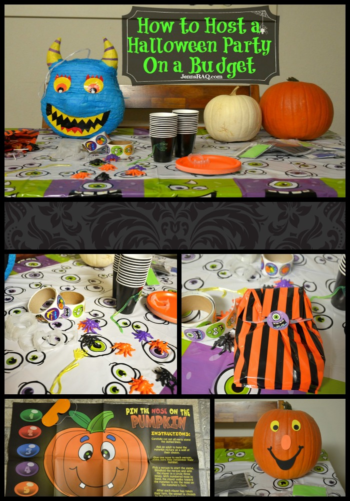how to host a halloween party on a budget as seen on jennsraqcom