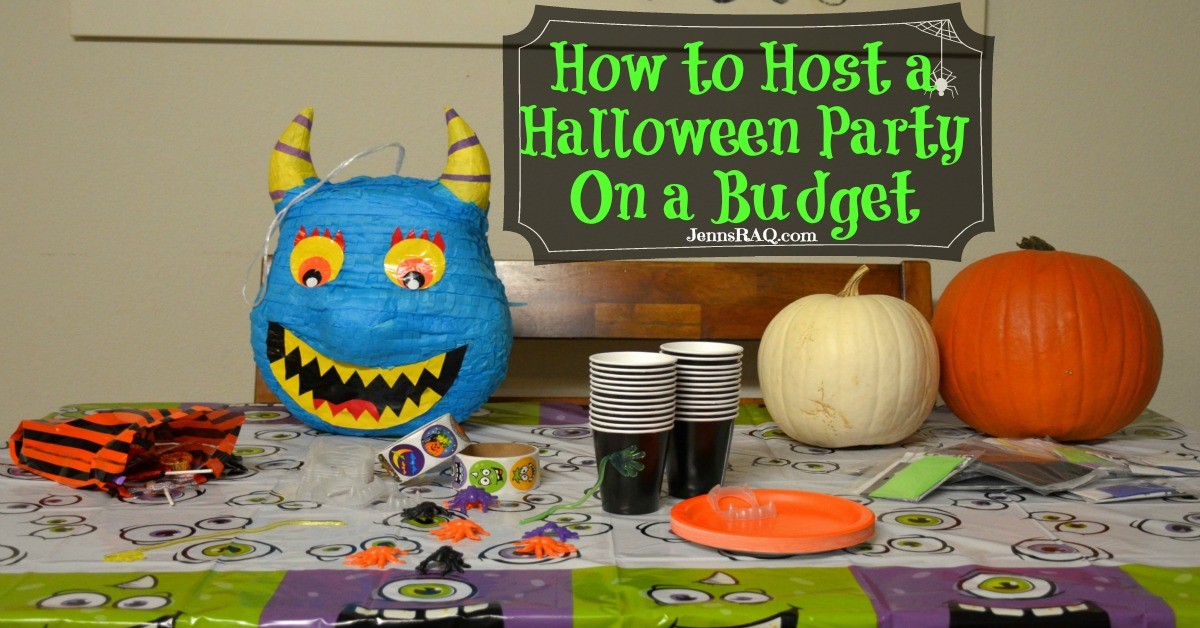 how to host a halloween party on a budget real and quirky
