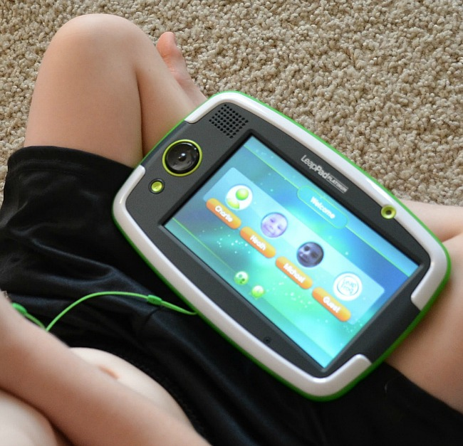 LeapFrog LeapPad Platinum Welcome Screen