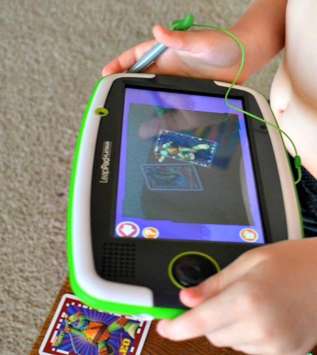 LeapFrog Platinum Imagicard Teenage Mutant Ninja Turtles Game