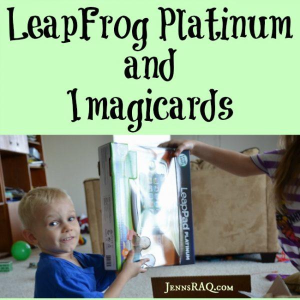 LeapFrog Platinum Tablet and Imagicard