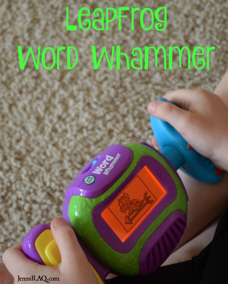 LeapFrog Word Whammer Toy as seen on JennsRAQ.com