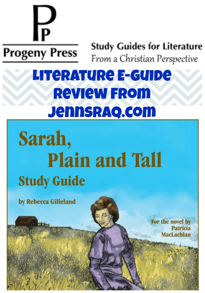 Progeny Press Literature E-Guide Review from JennsRAQ.com