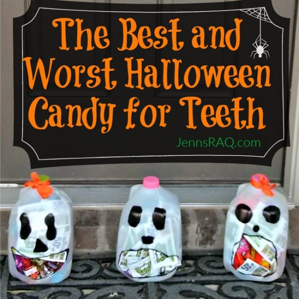 The Best and Worst Halloween Candy for Teeth