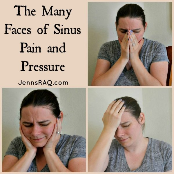 The Many Faces of Sinus Pain and Pressure {Giveaway}