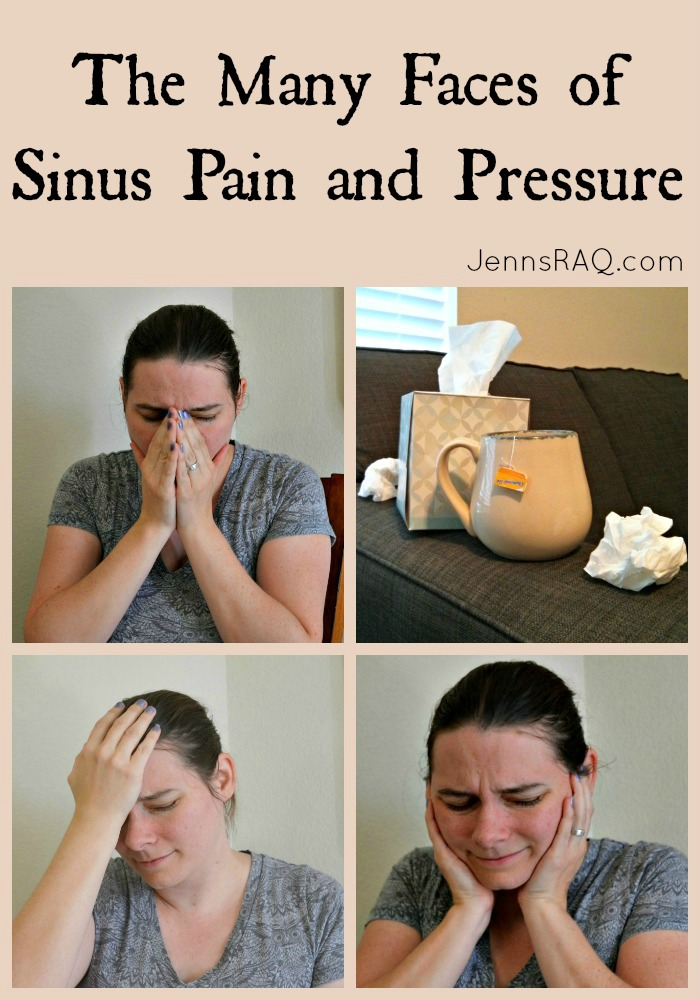 The Many Faces of Sinus Pain and Pressure #Sudafed #Ad - JennsRAQ.com