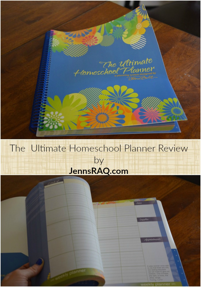The Ultimate Homeschool Planner Review by JennsRAQ.com