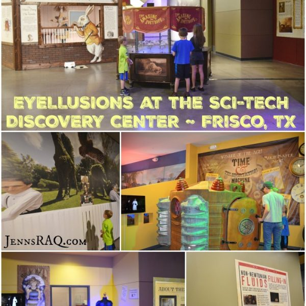 Eyellusions at Sci-Tech Discovery Center Frisco TX