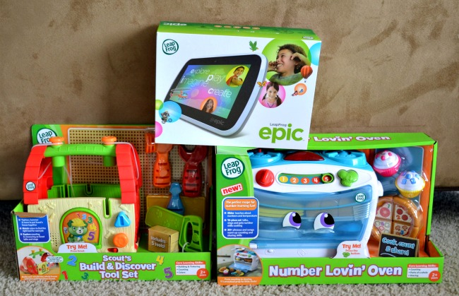 Hot Toys for Preschoolers from LeapFrog as seen on JennsRAQ.com