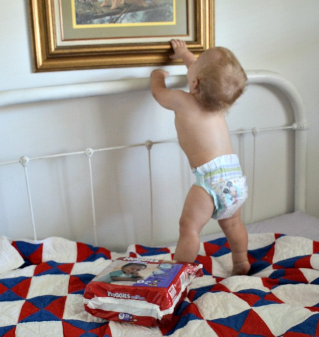 Keeping Up with Ethan with Huggies Little Movers Diapers as seen on JennsRAQ.com#AD
