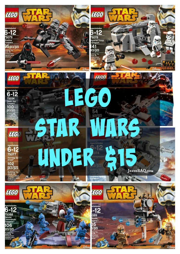 LEGO Star Wars Under $15 JennsRAQ.com