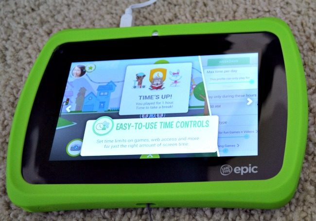 LeapFrog Epic - Parental Controls- as seen on JennsRAQ.com