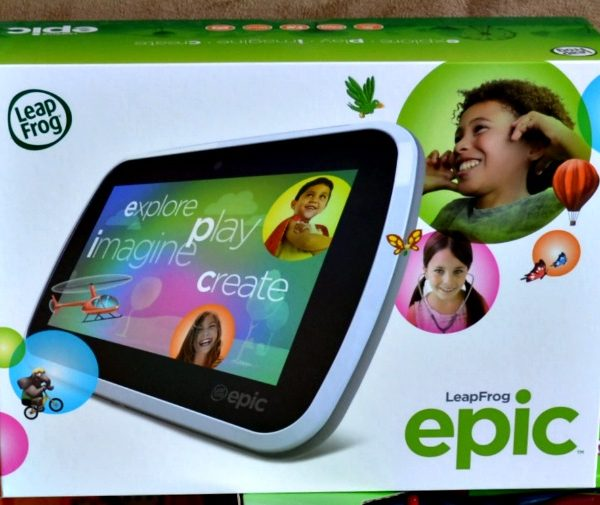 LeapFrog Epic Tablet – Perfect Gift for Kids