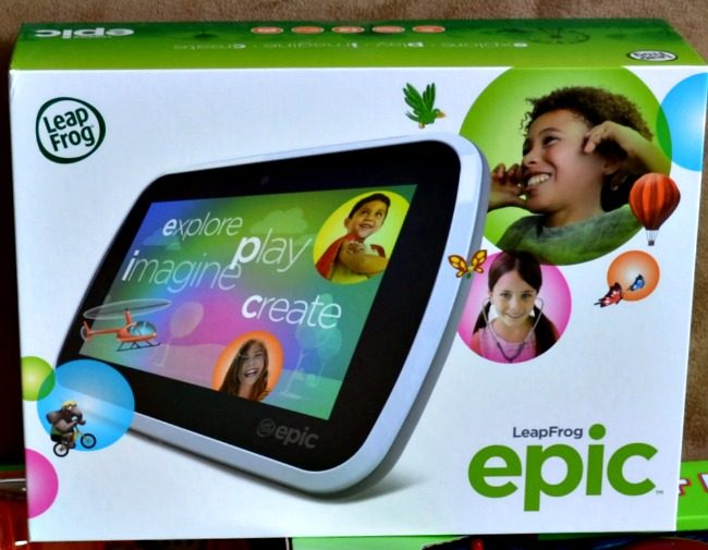 LeapFrog Epic - The Perfect Gift for Kids as seen on JennsRAQ.com