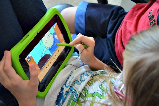 LeapFrog Epic - Vocabulary game - as seen on JennsRAQ.com