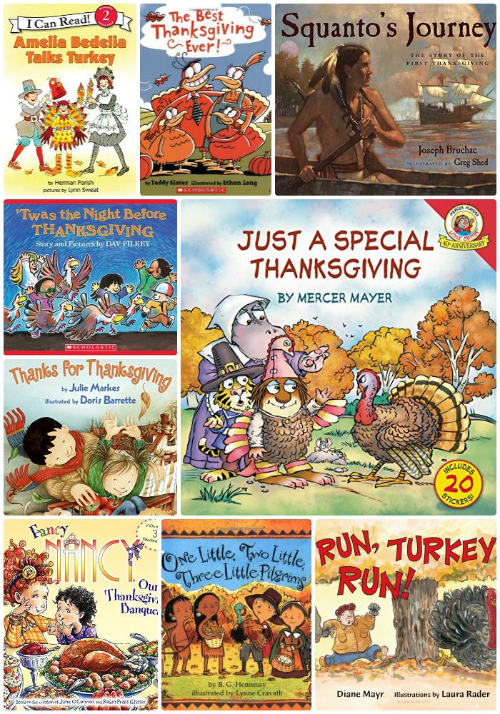 30 Thanksgiving Books for Kids as seen on JennsRAQ.com