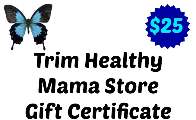 Trim Healthy Mama Store Gift Certificate Giveaway