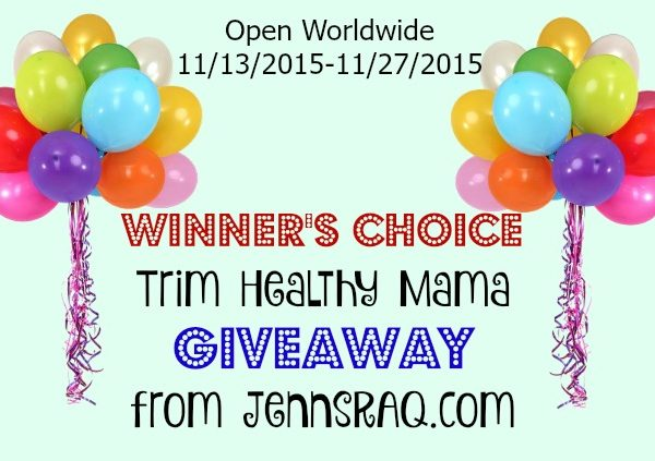 Trim Healthy Mama Winner's Choice #Giveaway