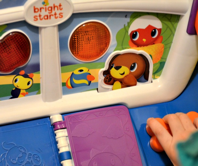 Bright Starts Learn and Giggle Activity Station toy as seen on JennsRAQ.com