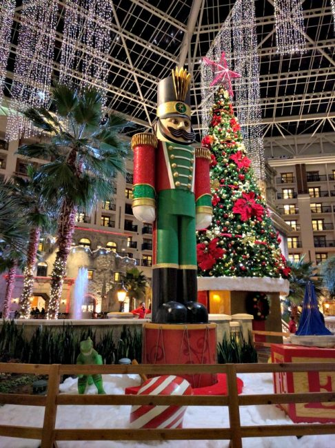 Gaylord Texans Lone Star Christmas Trains and Soldier as seen on JennsRAQ.com
