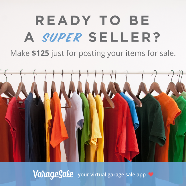 Super Sellers Promotion through VarageSale as seen on JennsRAQ.com