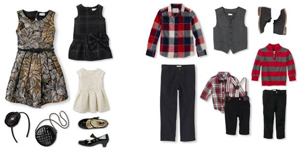 The Children's Place hot holiday looks for boys and girls