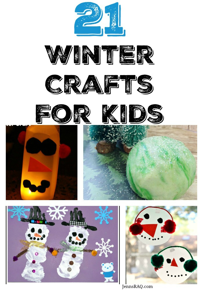 21 winter crafts for kids - as seen on jennsRAQ.com