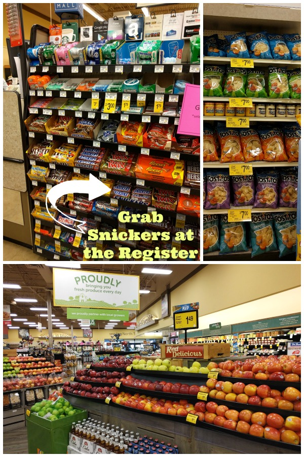 Snickers Blitz Dip and other ingredients are easy to find at Tom Thumb #GameDayMVP #TomThumb #ad