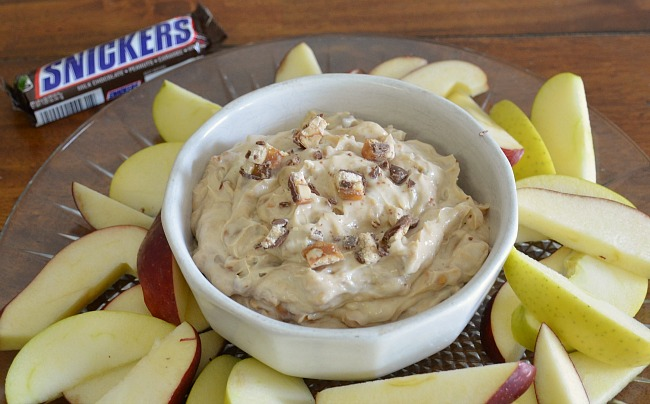 Snickers Blitz Dip as seen on jennsRAQ.com #GameDayMVP #TomThumb #ad