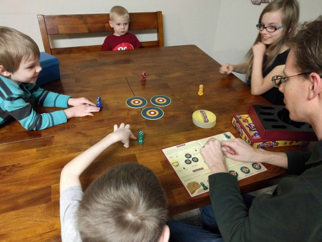 Family Game Archery Dice Game Review as seen on JennsRAQ