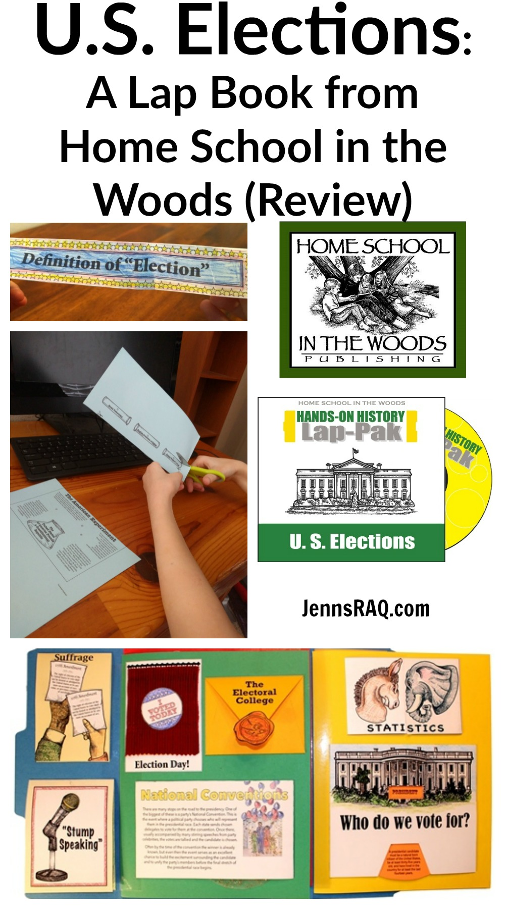 US Elections from Home School in the Woods (Review) as seen on JennsRAQ.com
