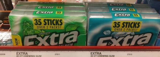 new Extra® 35-stick pack gum at Target AD #GiveExtraGetExtra #Target
