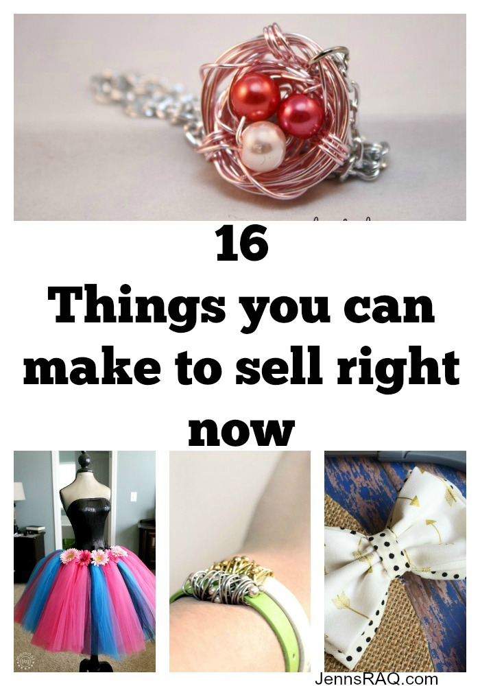 16 Things You Can Make To Sell Right Now Real And Quirky