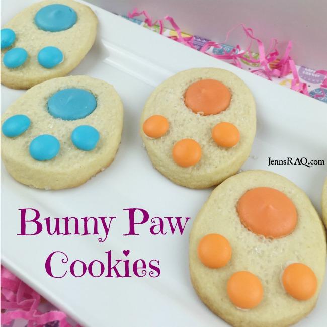 Bunny Paw Cookies