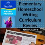 Here to Help Learning Homeschool Writing Program