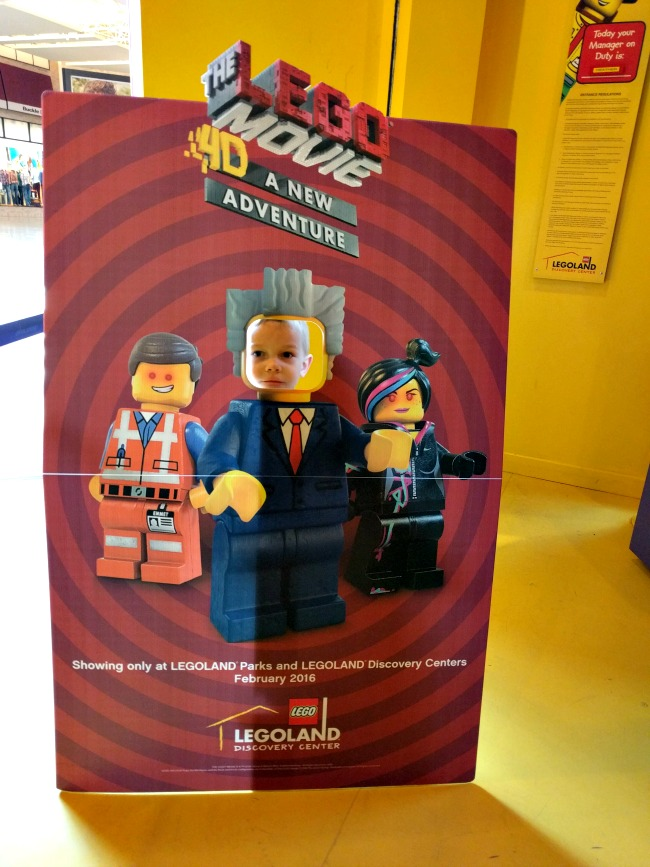New LEGOLand Discovery Center feature The LEGO Movie 4D A New Adventure