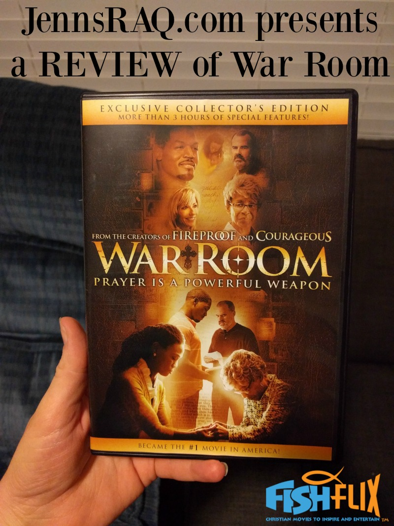 Review of War Room DVD from JennsRAQ.com as received from FishFlix.com