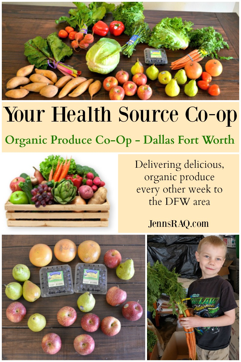 Your Health Source Co-op Organic Produce Co-Op - Dallas Fort Worth as seen on JennsRAQ.com