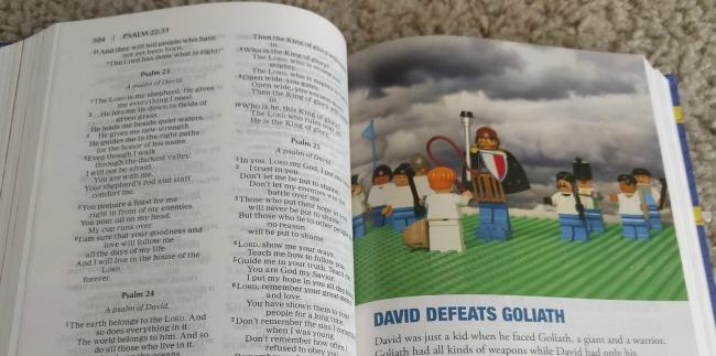 Zonderkidz Faith Builders Bible - David