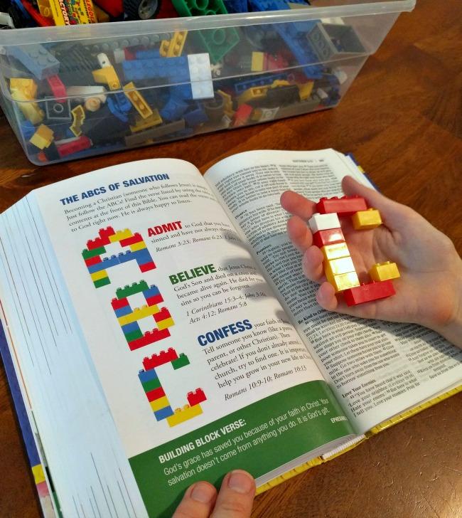 Zonderkidz Faith Builders Bible - Salvation